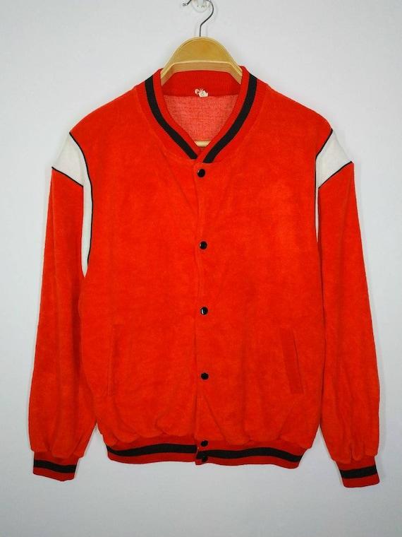 A002 Vintage Retro Varsity Sweater