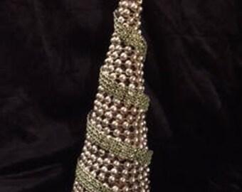 Vintage Jeweled Tree