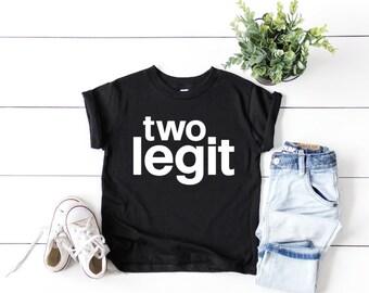 f8a157d57b748 Toddler Boy's Second Birthday Shirt | 2nd Birthday Boy | Two Legit Birthday  Shirt | Toddler Boy Second Birthday Shirt | Two Birthday Shirt