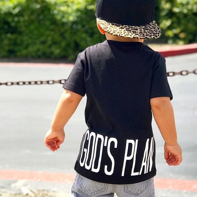ed8f5bf6d God s Plan Drake Bed and Momma Kids Hip Hop Shirt