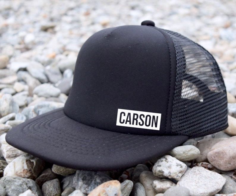 306b803f3 Custom Name Kids Snapback Hat   Personalized Name Kids Trucker Hat    Toddler Snapback   Infant Trucker Hat   Child Trucker Hat   Baby Hat