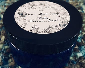 Cocoa Mint Body Butter 4 oz.