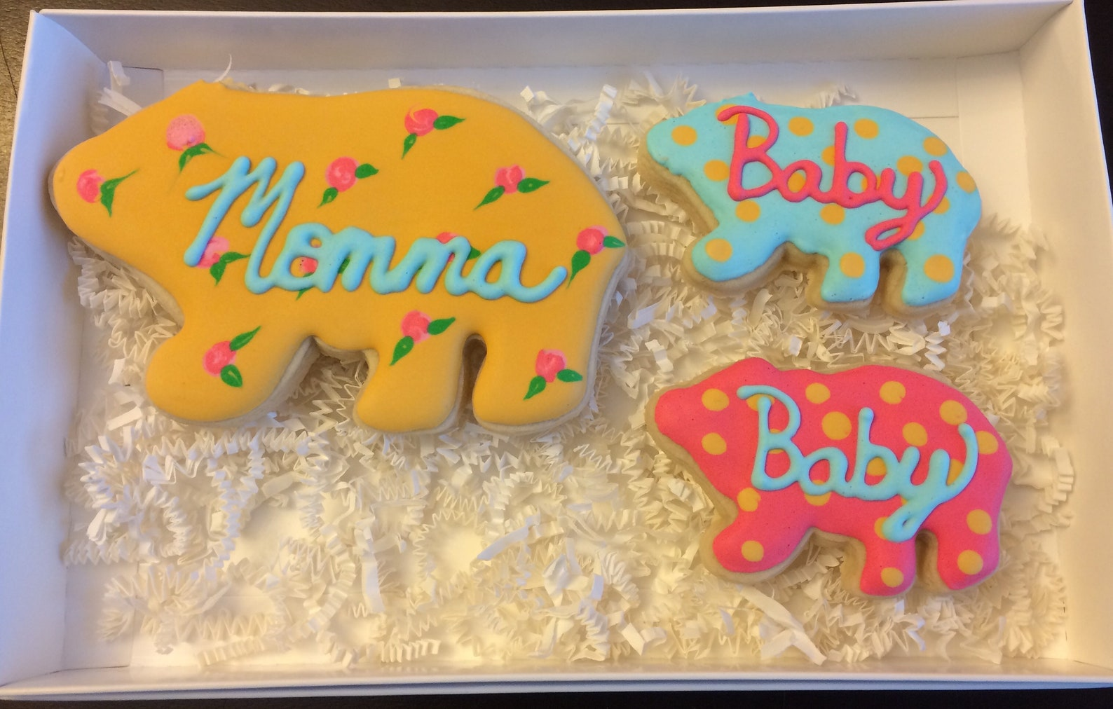 Mama Bear Cookies for Mothers Day