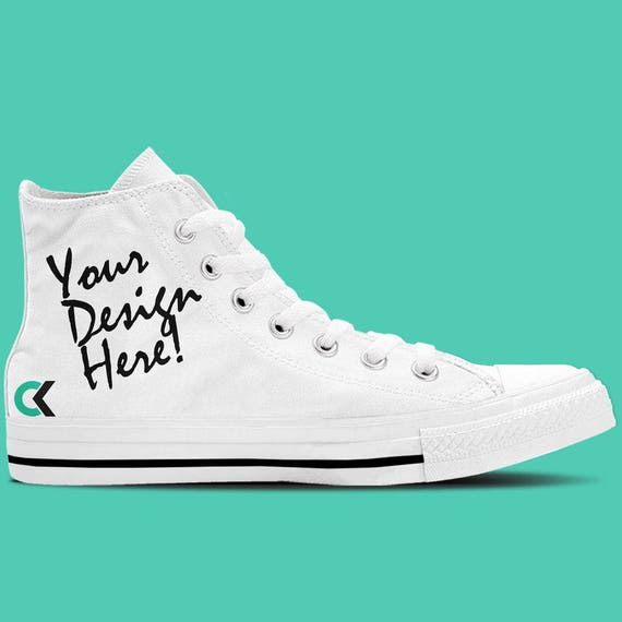 Custom Shoes Women s Customized High Top Sneakers  ef4af79840