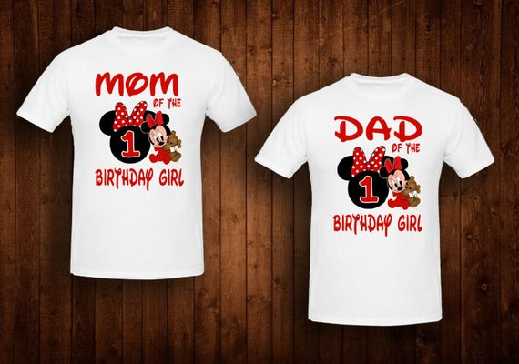 8c288f58 Family shirts red baby minnie mouse birthday theme mom of the | Etsy