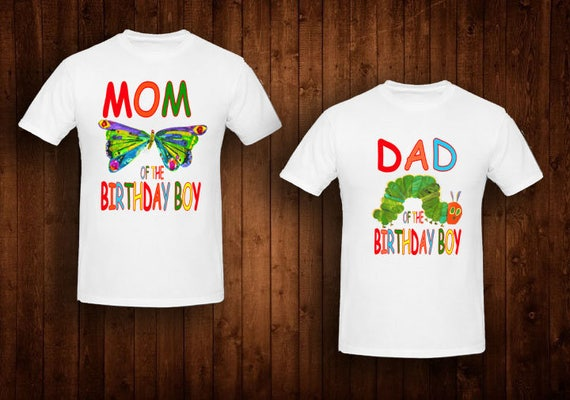 Family Shirts Hungry Caterpillar Birthday Theme Mom Of The