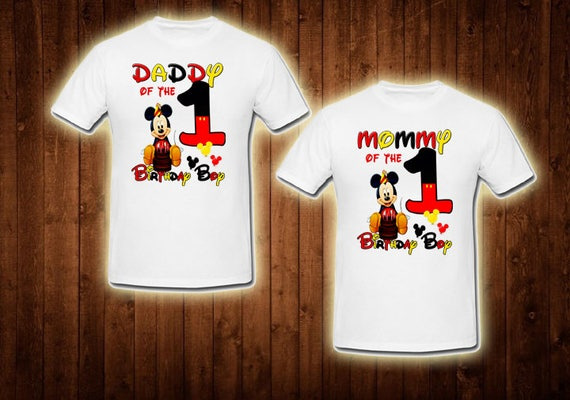 family shirts baby mickey mouse birthday theme mom of the  30c62dbadd4
