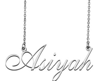 Necklace With Name Wedding Gift Gift For Daughter Carrie Name Necklace Gift For Children Custom Name Jewelry