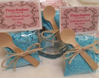 Bridal Shower Favors Wedding Favors Baby Shower Favors Bath Bomb Crush Blue Violet