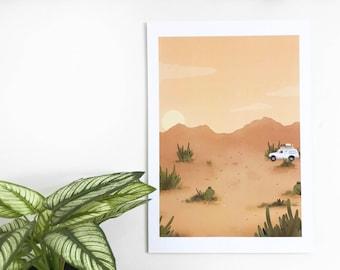 Joshua Tree - A4 Print