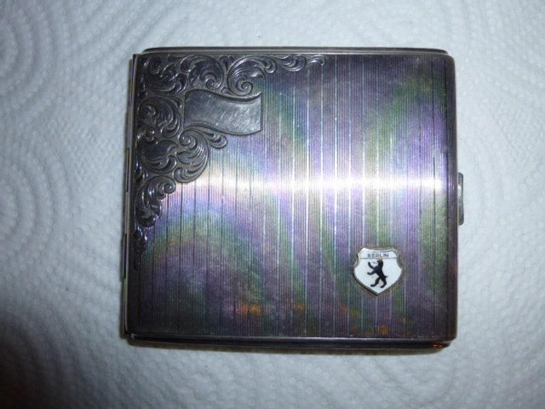 100% True Rare Magnifying Glass Um 1930 Bronze Art