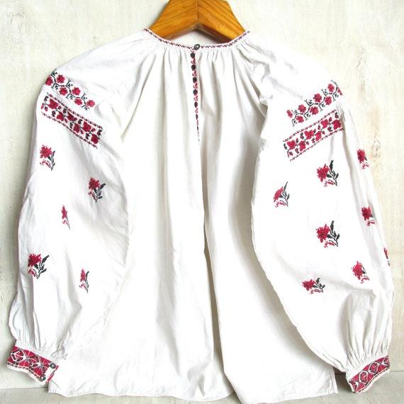 Vyshyvanka Antique Linen blouse