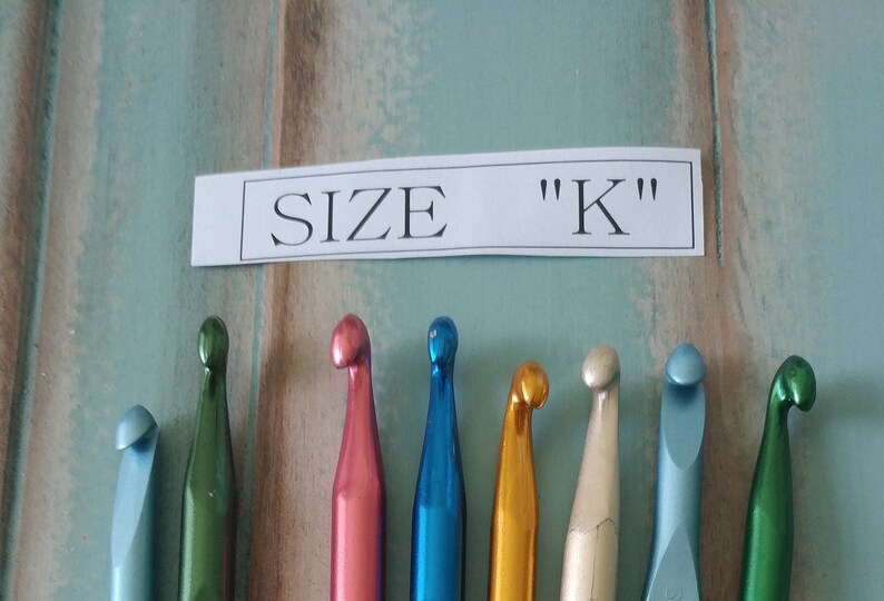 Size K Crochet Hooks Etsy