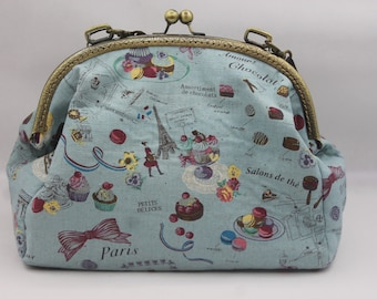 a2843b9293a3 Paris cafe bag