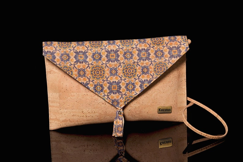 Cork Bag Cork Handbag Crossbody Vegan Leather Purse Cork image 0
