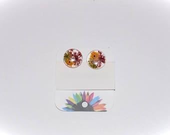 Small flowers earrings