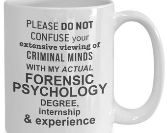 Forensic Psych Gift Etsy