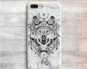 new style 12d45 bd197 Wolf iphone case | Etsy