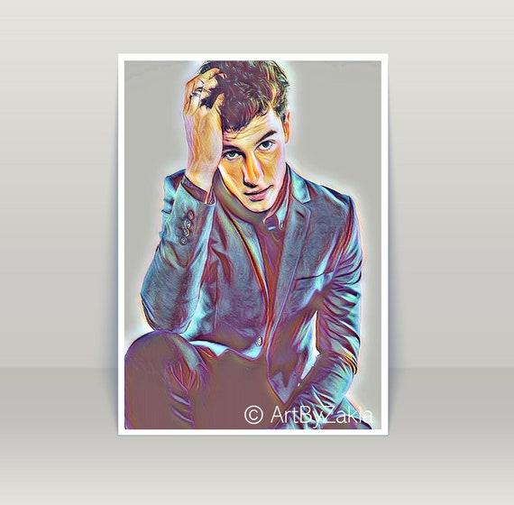 A3 SIZE MODEL GIFT//WALL DECOR ART PRINT POSTER Shawn Mendes 3 Canadian Singer