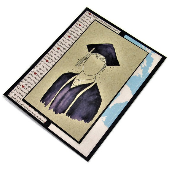 Graduation Card Handmade Card College Graduation Card Etsy
