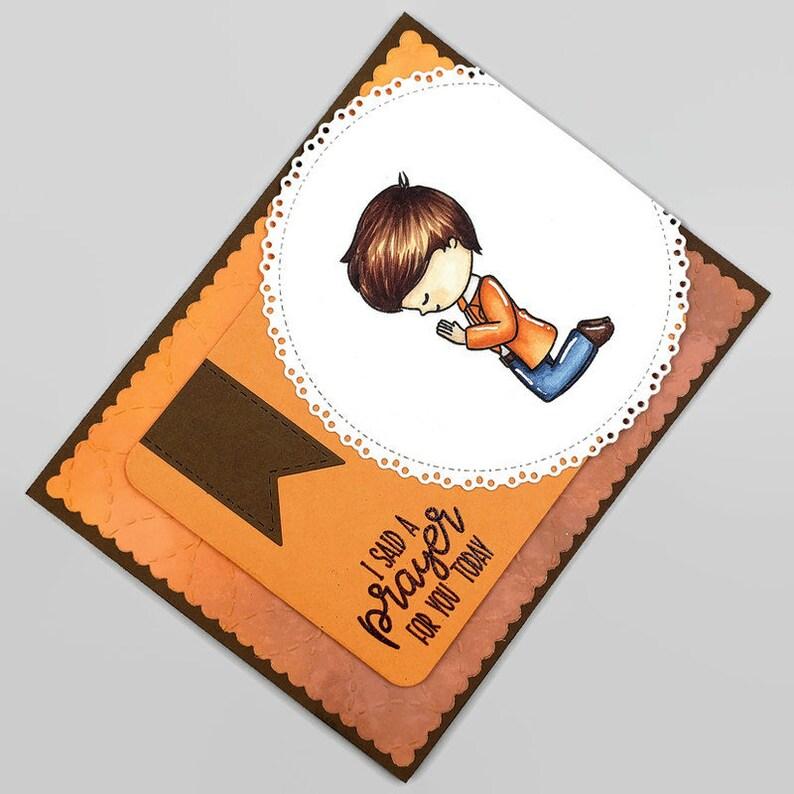 I Said A Prayer For You Today Religious Encouragement Card  image 0