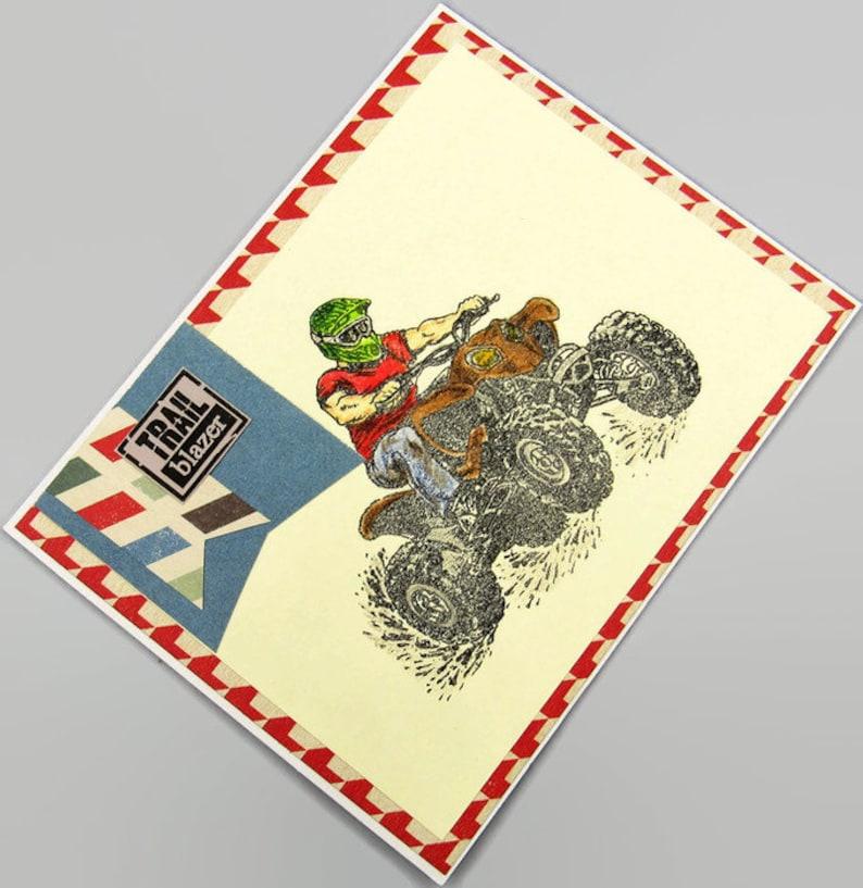 Trail Blazer You Make Dirt Look Good Masculine Card ~ 2015017 CLEARANCE