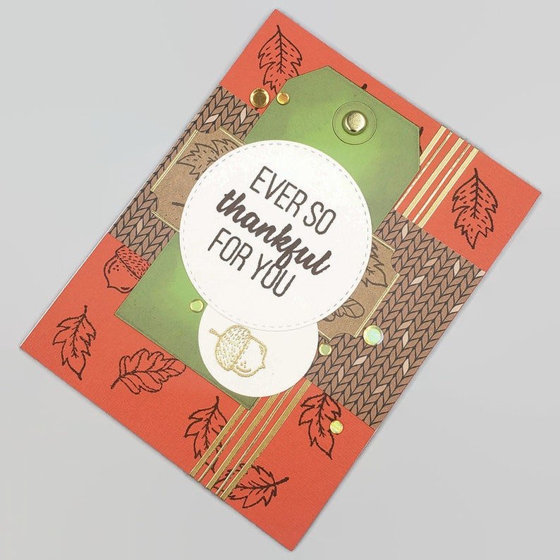 Ever So Thankful For You Thank You Card  2019252 image 0