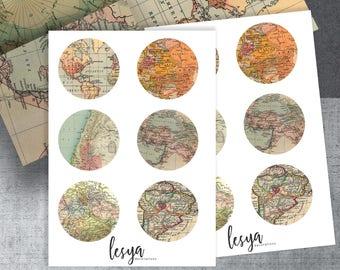 Classic Vintage Maps