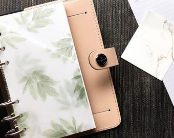 Vellum Planner Pocket - Leaves
