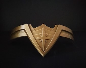 Wonder Woman tiara Replica prop for cosplay- high end gift for girlfriend