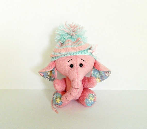 Plush Elephant Stuffed Animal Toy Soft Elephant Baby Plush Toy Etsy