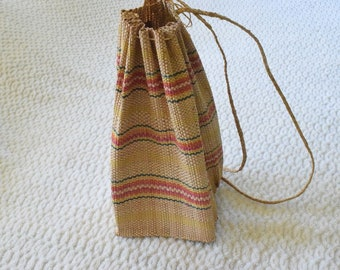 Traditional Back Pack, Hand Woven Bamboo back pack.