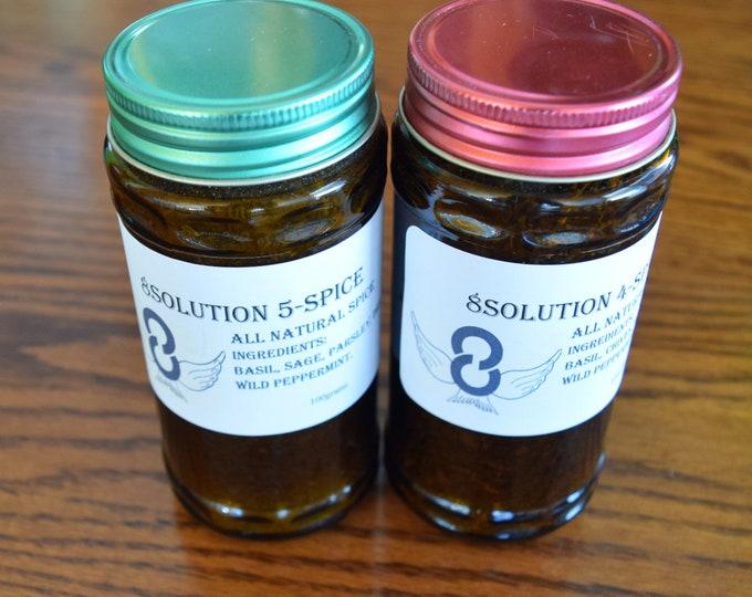 8Solution Five Spice Food Seasoning & Four Spice Food Seasoning.