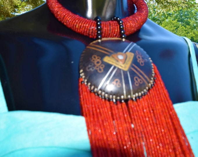 Traditional Tribal Women Necklace, Classic Necklace, Statement Necklace.