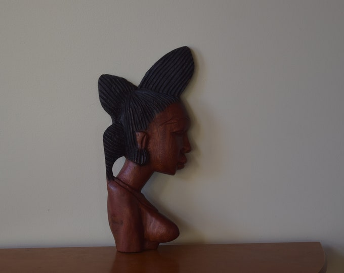 African Face Carving, Wood Carving, Sculptor