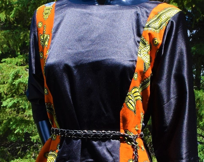 Mix Print Women's Dresses, Ankara print Dresses