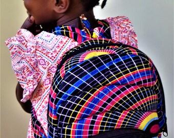 Packsack School Pack, Digital Print Backpack, Outdoors Bags.