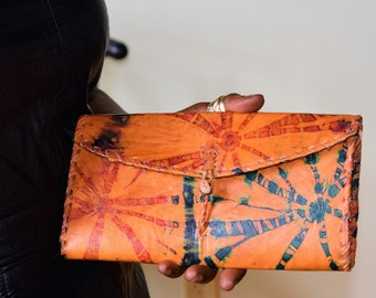 Unique Women's Wallet, Leather Wallet For Women.