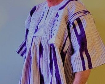 African Men's Traditional Outfit. Burkina Faso