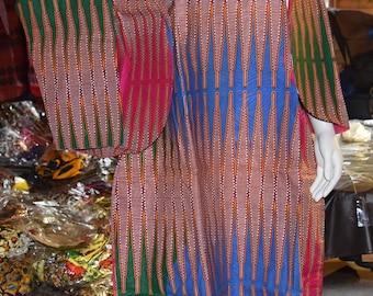 Dashiki Two Piece Suit Women's Dress