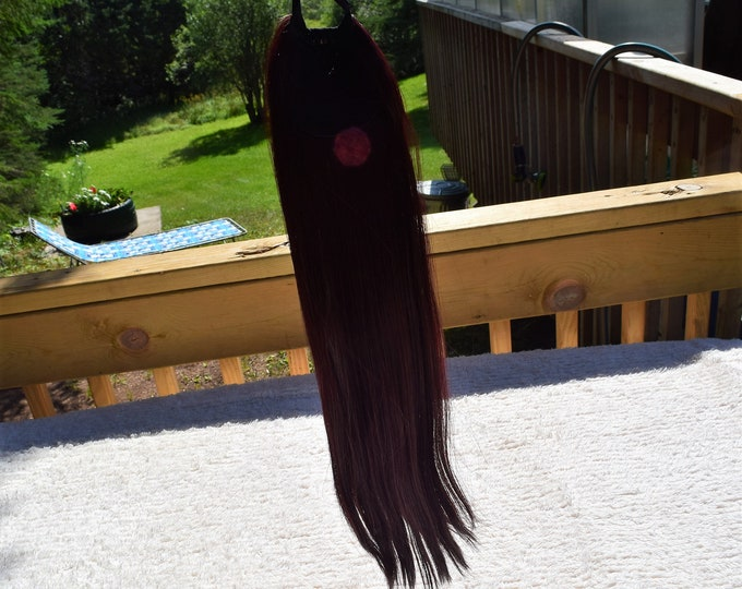 Straight Synthetic Ponytail, Beauty Ponytail.
