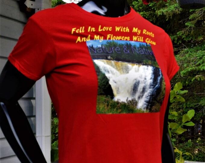 WaterFalls Design Shirt, Water Lover T-Shirts, Canada Natural Beauty Tees
