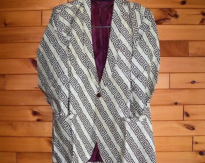 Classic Men's Blazer With Pants Men Suits, & Leopard Print Men's Suit.