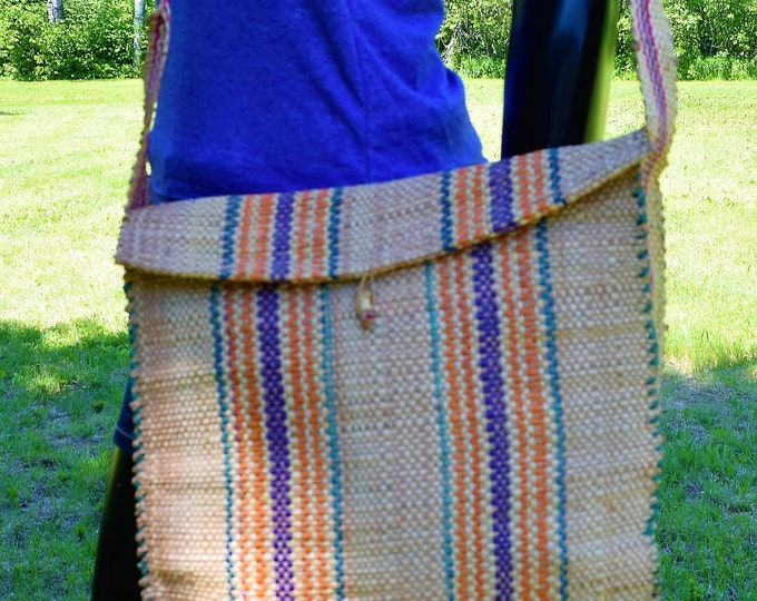 Bamboo Bag Shoulder Handcraft Bag Bamboo School Bags & Hunting Knife Bags.