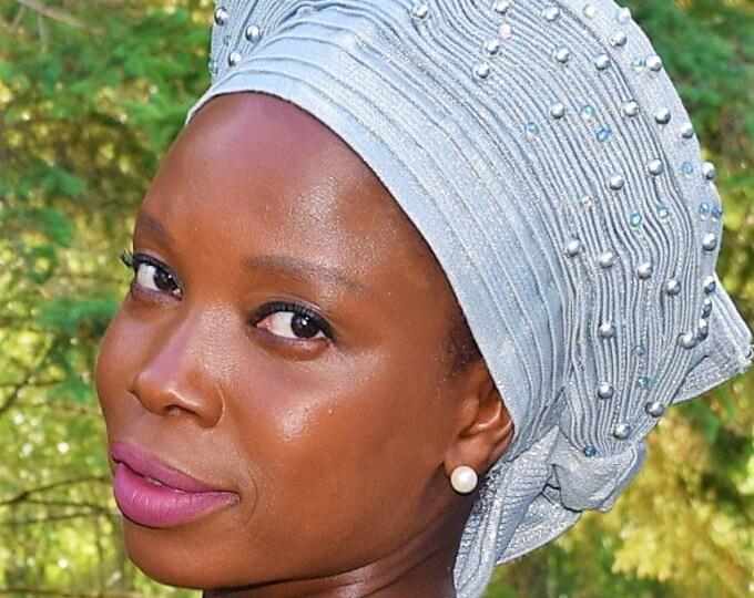 Head Piece African Women Head Wear Nigerian Women Head Wrap.