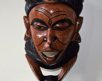 Authentic African Carving, Hand Carving Male Figure.