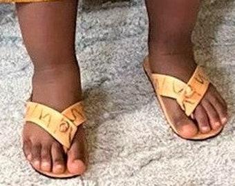 Leather Children's Sandals, Unisex & Girls's Sandals.
