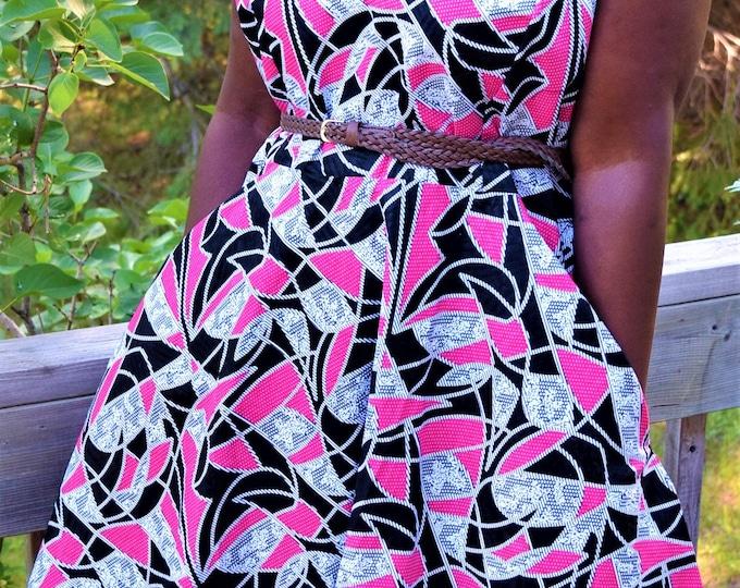 Mix Lace Classy Women's Dress. And Long One Shoulder Dress, African Print Elegant Dresses.
