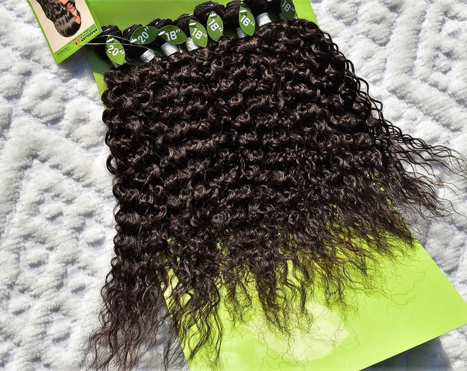 Weaving Extension 8 Value Bundle Pack 100% Human Hair Quality Synthetic 8Solution Beauty Hair