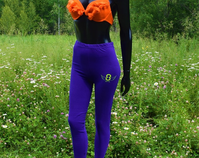 New Casual Ladies Cotton Leggings High Quality Vibrant & Comfy Leggings.